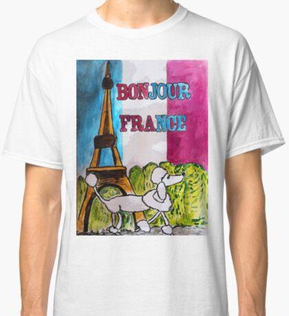 Bonjour France Classic T-Shirt