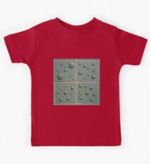 Droplets on the tiles (T-Shirt & iPhone case) Kids Tee