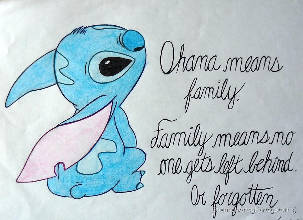 The Best Lilo and Stitch Quote by tiger1oo