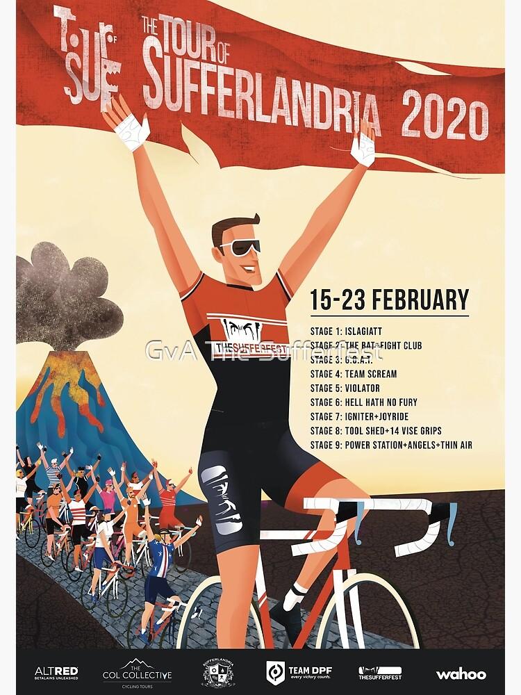 Tour of Sufferlandria 2020 by bvduck