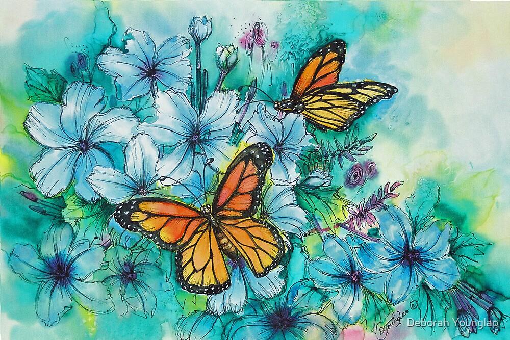 Summer Butterflies by Deborah Younglao