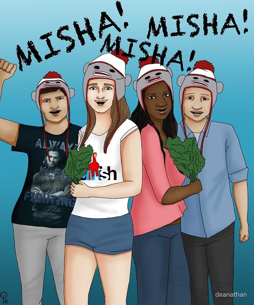 Misha Fans by deanathan