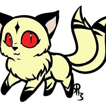 Kirara The Demon Cat Inuyasha by Raythebishie