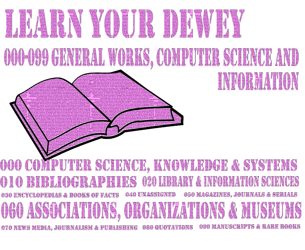 Learn your Dewey 000 by morever08