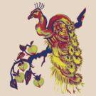 Peacock in a Peach Tree (Remix) by HiddenStash