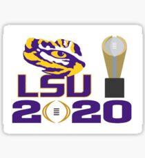 LSU Tigers College Football National Champions 2020  Sticker