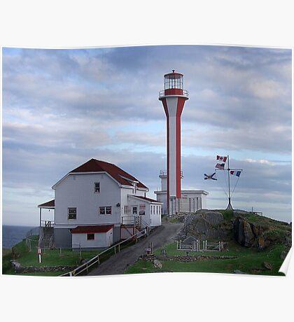 Cape Fourchu Lighthouse Poster