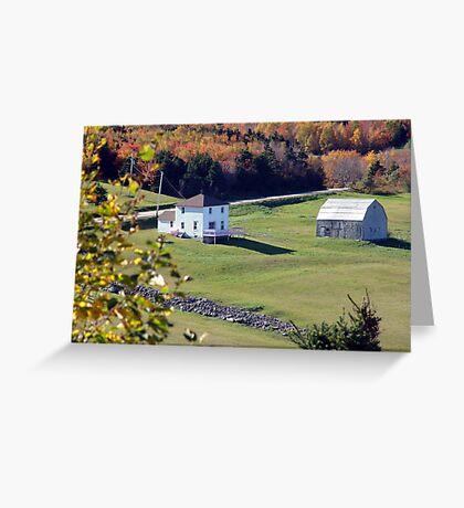 Capstick, Cape Breton Greeting Card