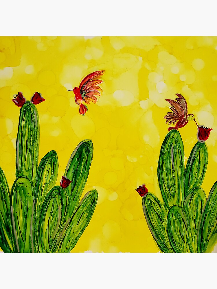 Hummingbird paradise  by ARTwithmeAz