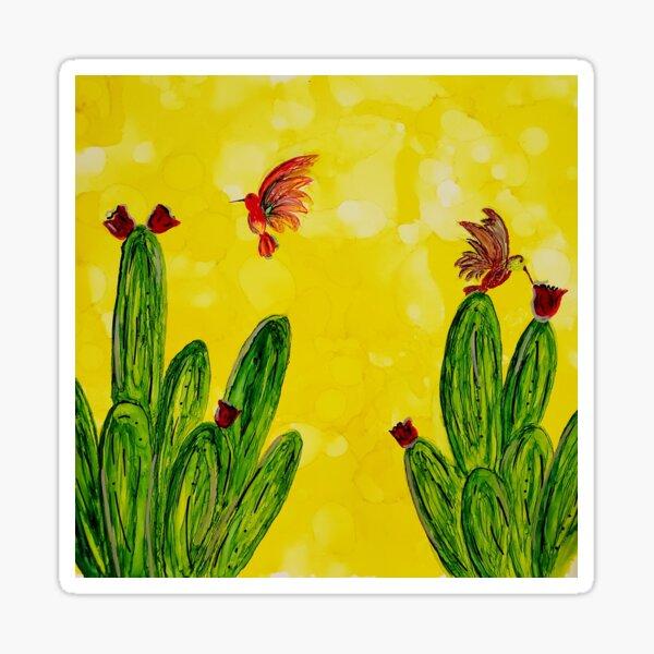 Hummingbird paradise  Sticker