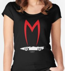 Mach 5 1967 Speed Racer Women's Fitted Scoop T-Shirt