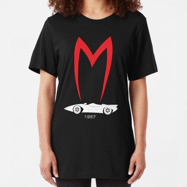 Mach 5 1967 Speed Racer Slim Fit T-Shirt