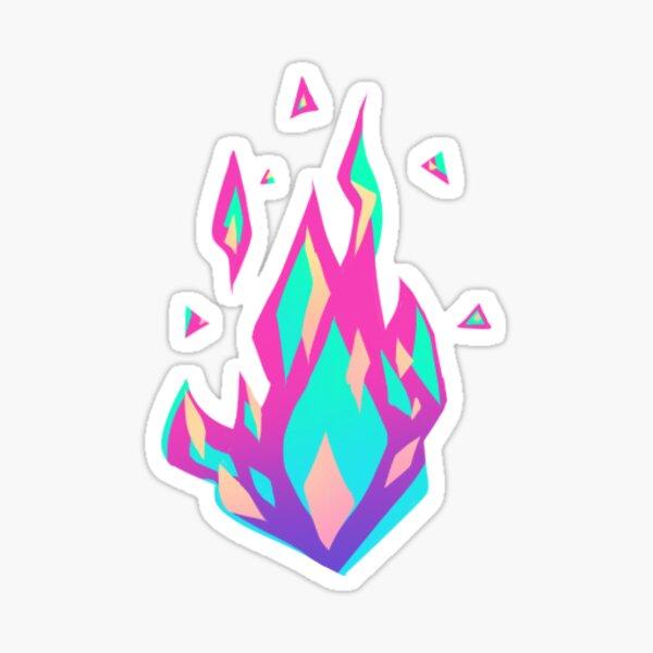Promare Lio's Fire Sticker