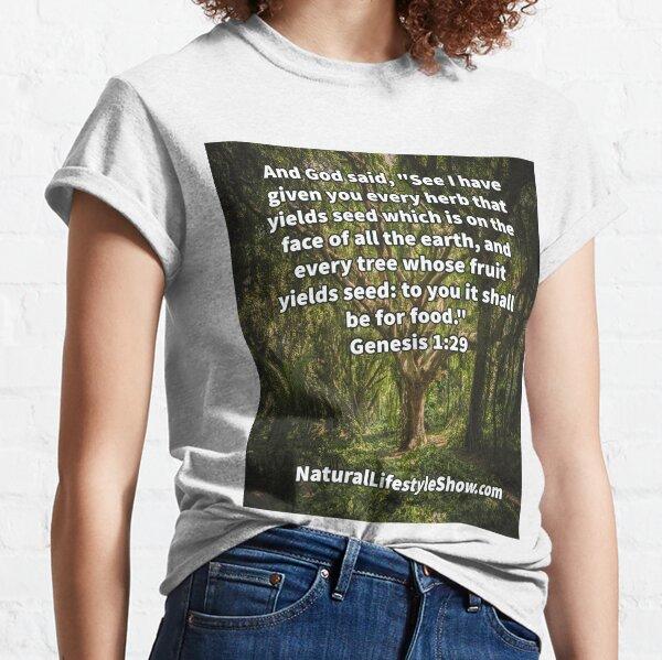 Genesis 1:29 Bible Verse Classic T-Shirt