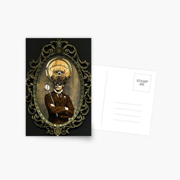 Steampunk Civil War Portrait: Silas Postcard