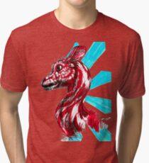 Peppermint Mammal Tri-blend T-Shirt
