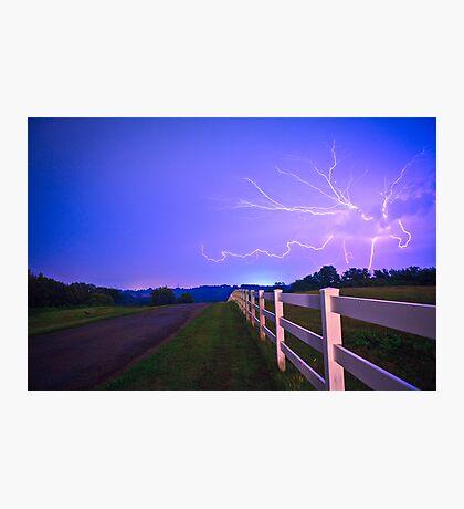 Country Road-Nebraska Photographic Print