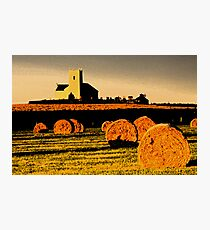 The church on the hill. Photographic Print