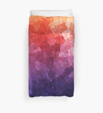 Crystal Rainbow Abstract Duvet Cover