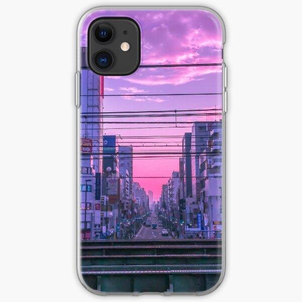 Tokyo Skies iPhone Soft Case
