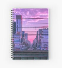 Tokyo Skies Spiral Notebook