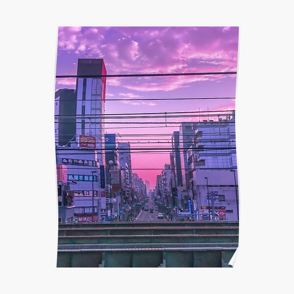 Tokyo Skies Poster