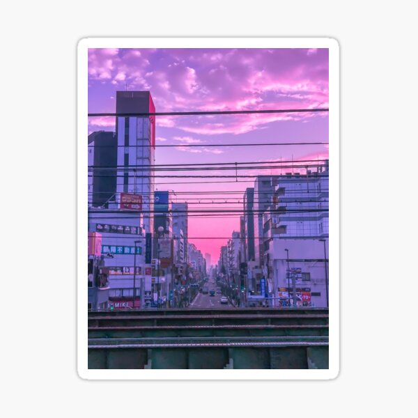 Tokyo Skies Sticker