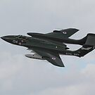 Sea Vixen pass by SWEEPER
