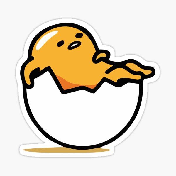 Egg rest funny food meme! Sticker