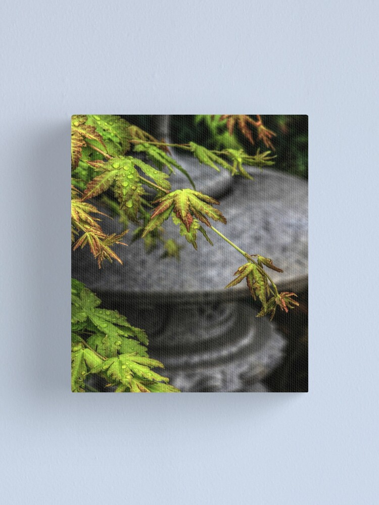 Alternate view of In A Japanese Garden Canvas Print
