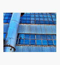 Industrial warehouse... Photographic Print