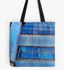 Industrial warehouse... Tote Bag