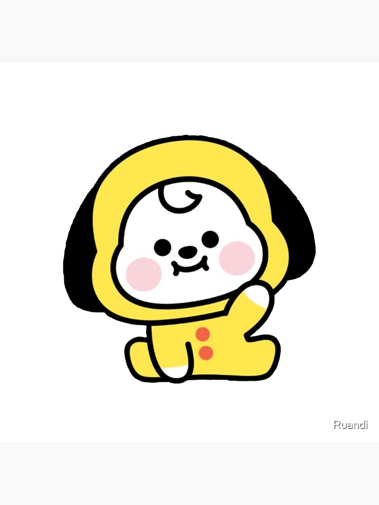 Bts Chimmy Greeting Card By Ruandi Redbubble 💕this one's a tearjerker for sure. redbubble