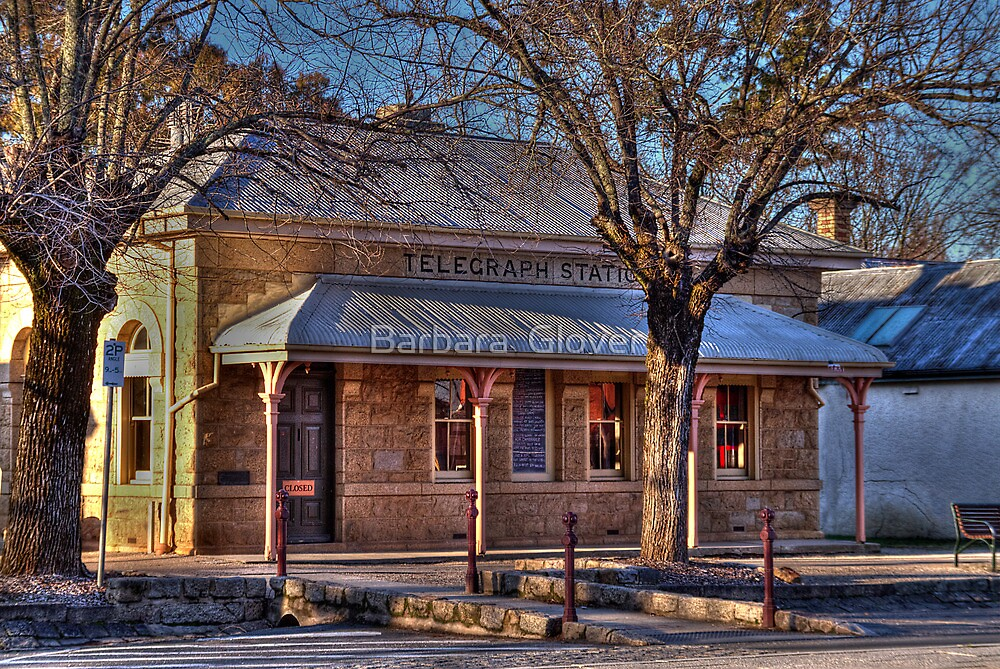 Beechworth Telegraph Office by Barbara  Glover
