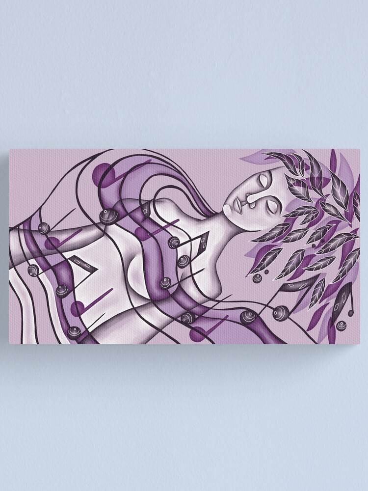 Alternate view of Lullaby Canvas Print