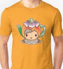 Sencha Peach Teapot Slim Fit T-Shirt