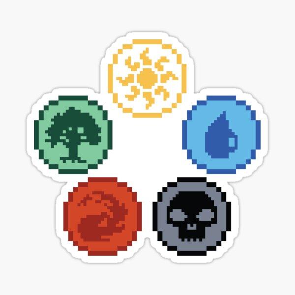 Magic Mana Sticker