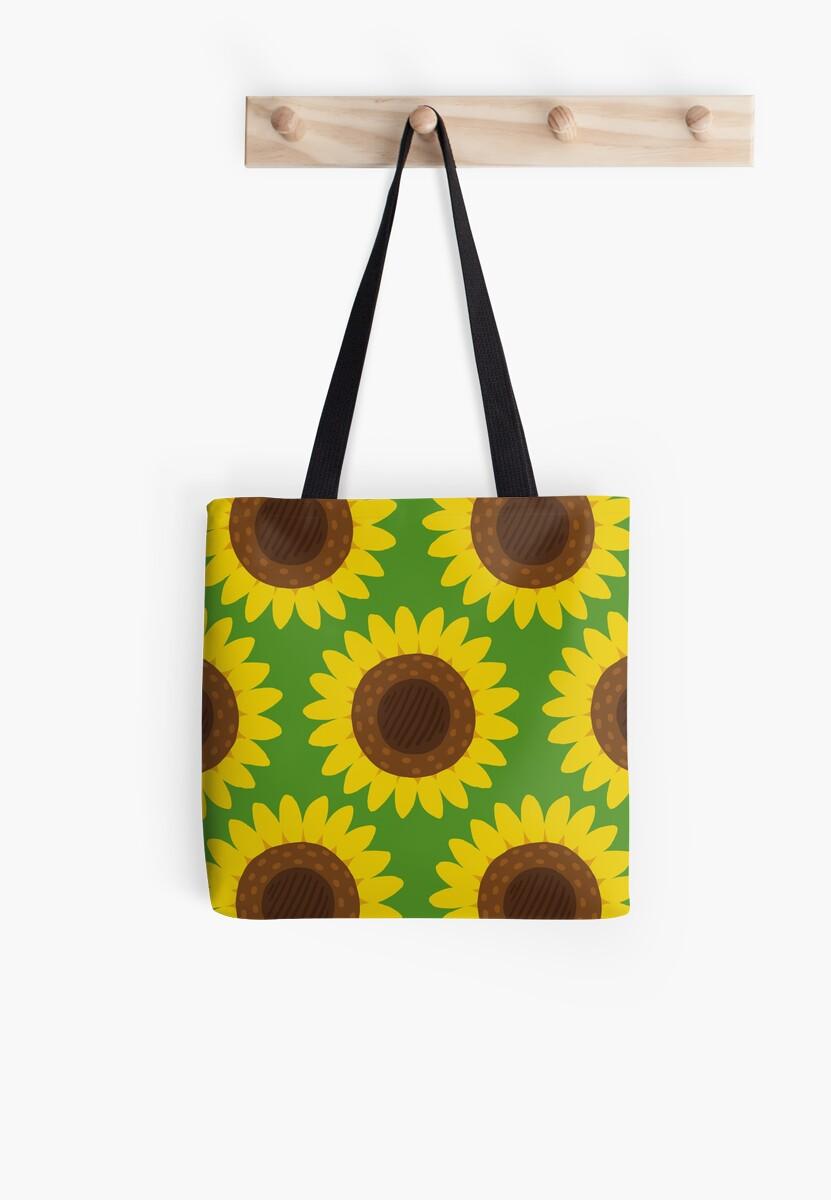 Sunflower Print by Helmi Kinnunen