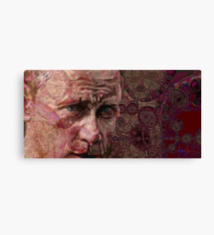 Portrait of Vladimir Putin: Man of Power Canvas Print