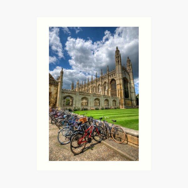 Kings College, Cambridge Art Print