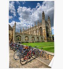 Kings College, Cambridge Poster