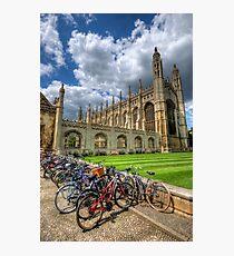 Kings College, Cambridge Photographic Print