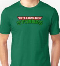 Pizza Eating Ninja Stoners T-Shirt