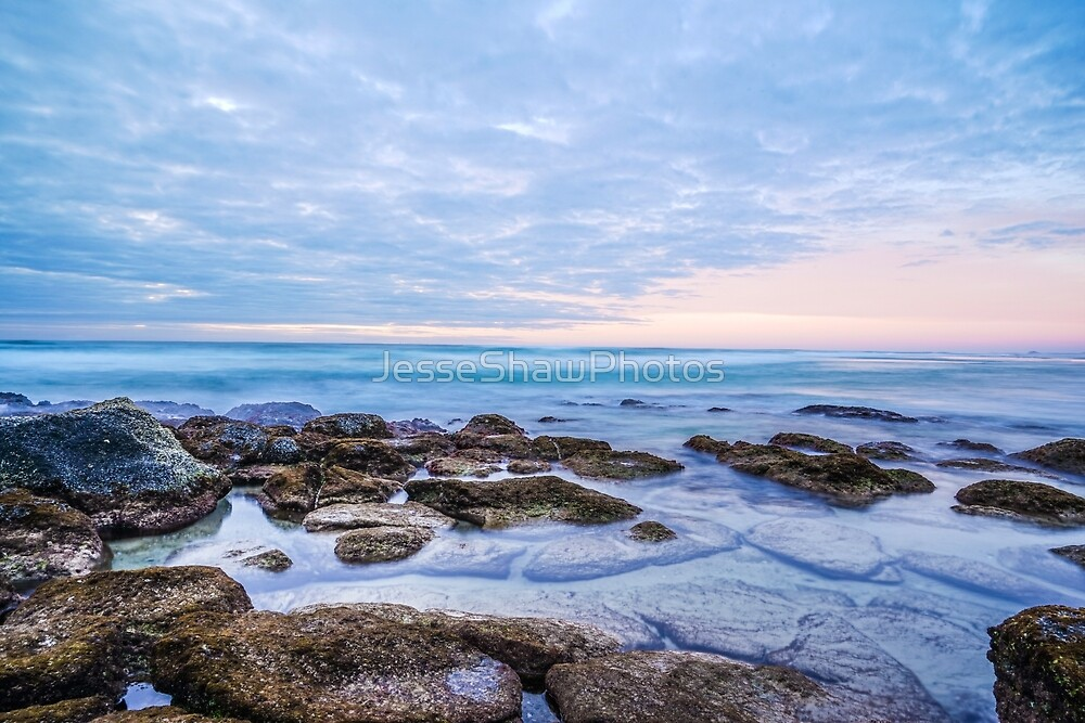 South beach sunrise by JesseShawPhotos