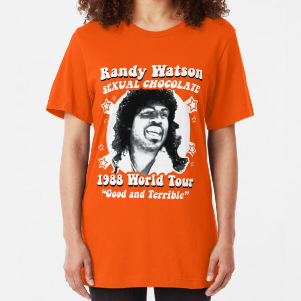 Randy Watson 1988 World Tour Slim Fit T-Shirt