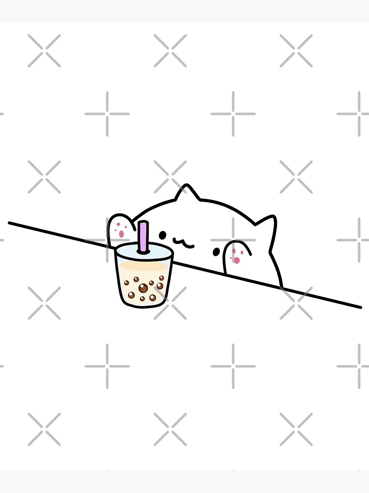 Bongo Cat Wants Boba! by SirBobalot