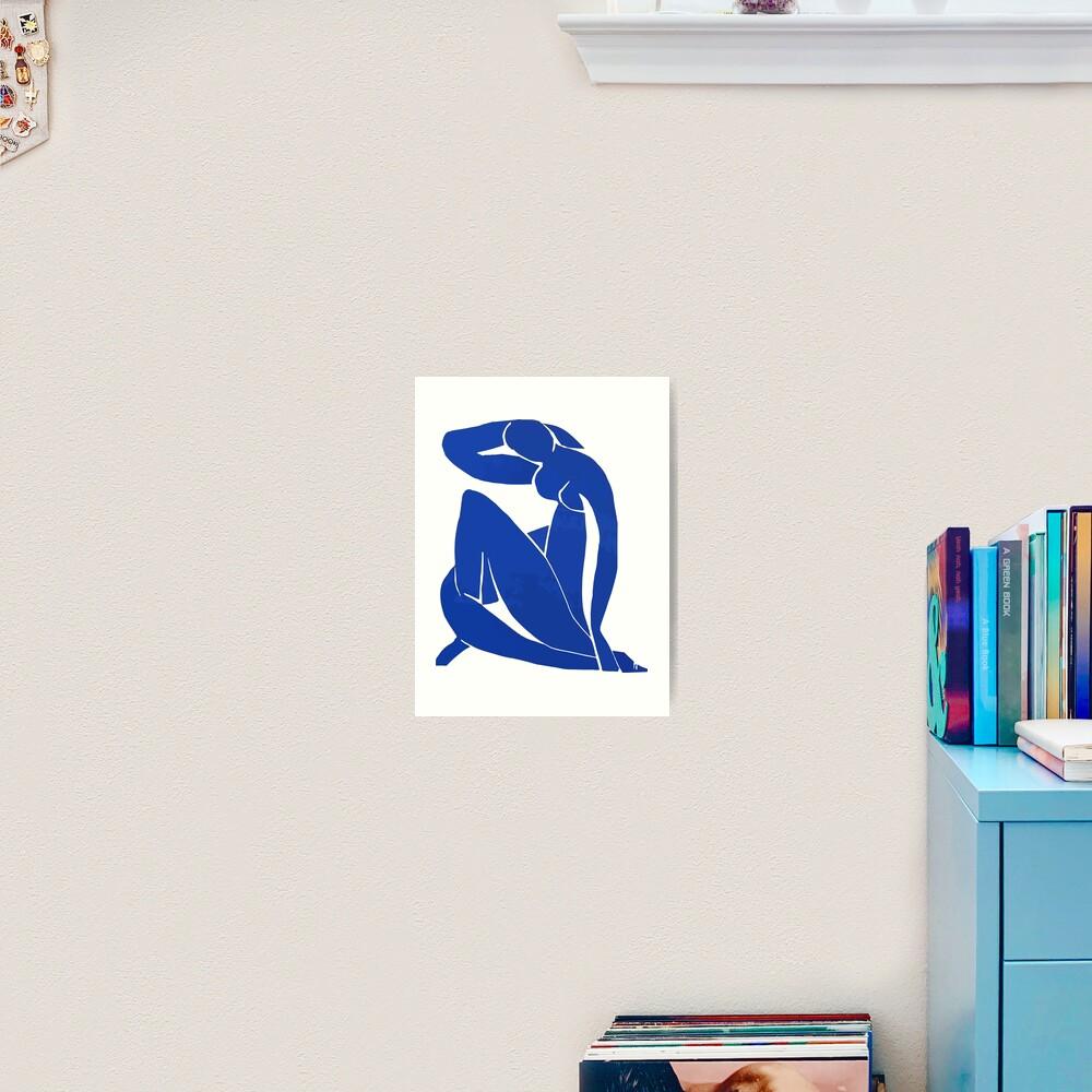 Henri Matisse - Blue Nude 1952 - Original Artwork Reproduction Art Print