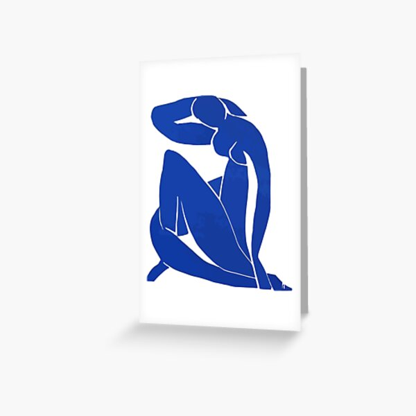 Henri Matisse - Blue Nude 1952 - Original Artwork Reproduction Greeting Card