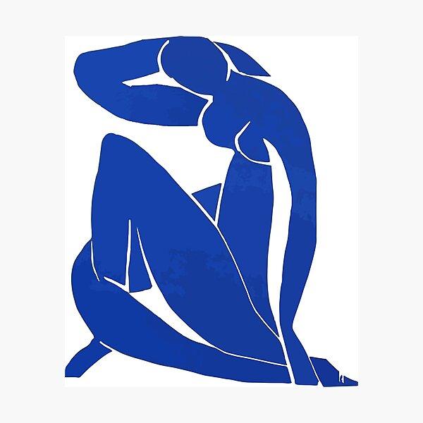 Henri Matisse - Blue Nude 1952 - Original Artwork Reproduction Photographic Print
