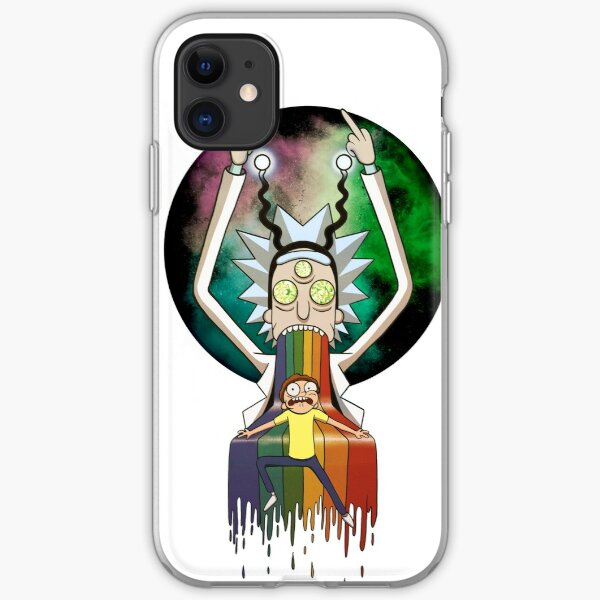 Peace among worlds - Rick & Morty (TM)  iPhone Soft Case
